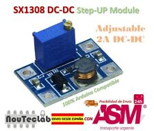 DC-DC SX1308 Step-UP Adjustable Step Up Boost Converter 2-24V to 2-28V 2A