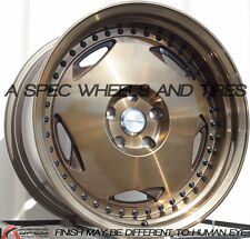 18x10 Varrstoen MK6 5x120 +25 Bronze Wheels (Set of 4)