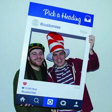 Corex Personalised Instagram Selfie Photo Frame Birthday Wedding Hen Night