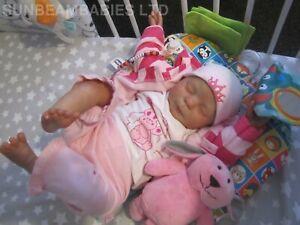 REBORN TODDLER DOLL 8LBS BOUNTIFUL BABY GIRL ARTIST 7YRS DAN SUNBEAMBABIES GHSP.