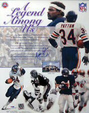 SALE! WALTER PAYTON AUTOGRAPHED SIGNED 16X20 POSTER PHOTO CHICAGO BEARS PSA/DNA
