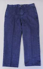 Orvis Men's Flat-Front Denim Chino Pants MC7 Dark Indigo 10K8 Size 40 NWT $119