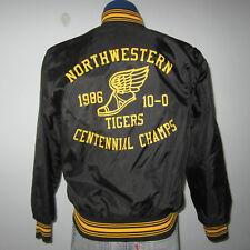 vtg L 1980s '86 NORTHWESTERN Pennsylvania HIGH SCHOOL undefeated Track JACKET
