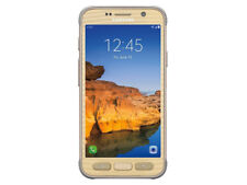 """New"" Samsung Galaxy S7 Active SM-G891A Unlocked GSM Phone AT&T T-Mobile Gold"
