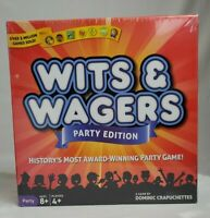 Wits and Wagers Party Edition Game.  Brand NEW Factory Sealed