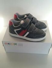 Geox Boys Jr Vita A Casual Fashion Sneakers size 28M EU / 10 M US / Toddler