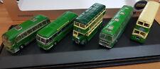 5 Autobus 2 a 2 Piani Routemaster SouthDown Set - Scala N - Oxford - Nuovo