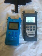 2x Optical Power Meter + Visual Fault Locator
