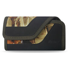 Camouflage Reiko Rugged Cover Pouch Clip (Fits w/ Hard / Skin Case on the Phone)