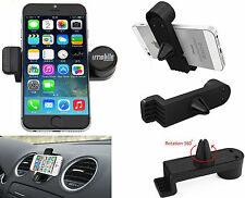 Genuine Imobile 360° Universal In Car Phone Air Vent Mount Cradle Stand Holder B