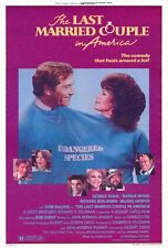 THE LAST MARRIED COUPLE IN AMERICA Movie POSTER 27x40 George Segal Natalie Wood