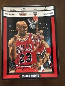 Upper Deck Michael Jordan 25,000 Points Collector Plate Plaque