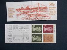 Fb37 Roman Britain 50P Machin Stamp Booklet Theatre Verulamium Cylinder B21 4 30