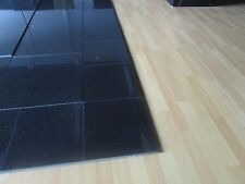 "Granite Floor Tiles in Polished Black Absolute Size: 12""x12""x1cm"
