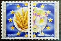 Italy 2005 Stamps Europe -  Gastronomy, Goblet & Grapes MNH #654