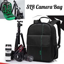 Waterproof Digital DSLR SLR Camera Bag Shoulder BackPack Case For Canon For Sony