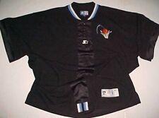 Cleveland Cavaliers NBA Starter Black White Orange Pullover Shooting Shirt 4XL