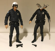 Neca 7� Motorcycle Liquid T-1000 Figures Terminator 2 Ultimate Edition