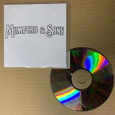 Mumford & Sons – Lend Me Your Eyes EP. 4 track promo CD (2008) Chess Club