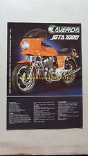 Laverda 1000 Jota 1200 TS 1981 depliant moto originale motorcycle brochure