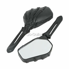 BK Hand Skull Rearview Mirrors Fit Yamaha V-Star XVS 650 1100 Classic Silverado