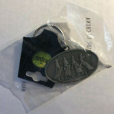 The Beatles Abbey Road Metal Keychain Official 2007 Rocks Off