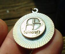 50th Anv SPINCRAFT logo pendant metal fab engineering deep space exploration pin