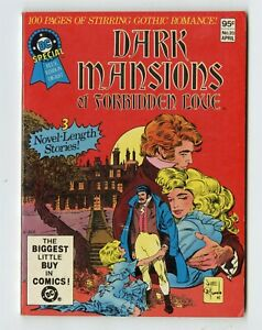 DC Special Blue Ribbon Digest #20 NM- 9.2  Dark Mansion of Forbidden Love  1982