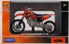 WELLY KTM 450 SX RACING 1:18 DIE CAST MODEL NEW LICENSED MOTORCYCLE