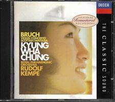 Bruch - Violin Concerto No.1 - Scottish Fantasia - Chung - Kempe -Decca Sound
