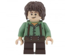 Lego Frodo Baggins 30210 9469 Sand Green Shirt The Lord of the Rings Minifigure