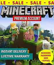 Minecraft Java Premium Edition PC and MAC Code | With Warranty | 100% worked