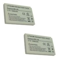 2 Batteries DB-L40 DB-L40A DB-L40AU for Sanyo DMX-HD1 DMX-HD2 DMX-HD15 DMX-HD700