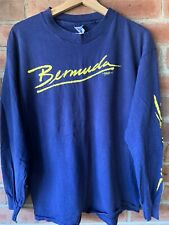 Vintage 80s Long Sleeve Bermuda Shirt Size Xl