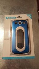 NEW Accellorize Samsung Galaxy sIII Protective Case Blue/White