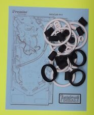 1994 Gottlieb / Premier Rescue 911 pinball rubber ring kit