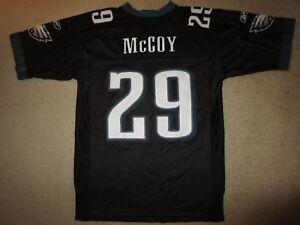Philadelphia Eagles #29 Mccoy NFL Football Reebok Black Edition Jersey M Medium