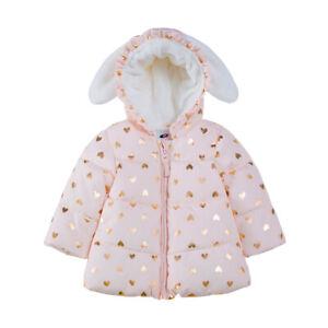 Rokka&Rolla Baby Girls' Puffer Jacket Winter Coat for Newborn Infant Toddler