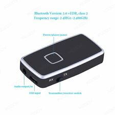 3.5mm Bluetooth 3.0 Music Receiver Transmitter Wireless USB Adapter 2 in1 Dongle