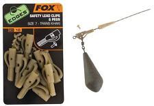 Fox Edges Safety Lead Clips & Pegs CAC477 Angelzubehör