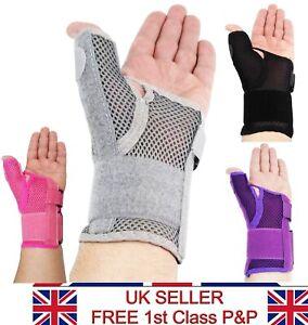LTG PRO Thumb & Wrist Support Breathable Mesh Brace Splint Arthritis Stabiliser
