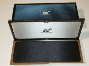 MONTBLANC PEN CASE WITH BOX BRAND NEW OLD RETAILER STOCK 1990'S