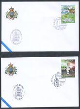 San Marino - 2012 - Buste FDC - Primo giorno d'emissione - Annata completa