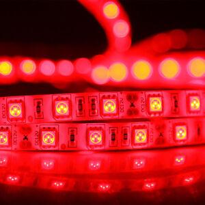 Red 150/300/600Leds DIY Lighting 3528/5050 SMD Flexible LED Rope Strip Light