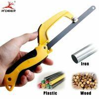 """10"""" Hand Saw Aluminum Alloy With DIY With Hacksaw Hand Tools Pocket For Cu"""