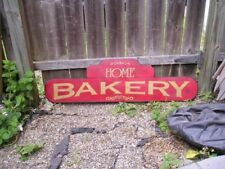 HP HOME BAKERY WOOD SIGN CUSTOMIZED COLORS TRADE STYLE 3FT KITCHEN DECOR