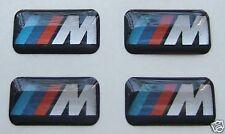 4 BMW M Wheel Badge Sticker Logo E36 E39 E46 E90 M3 M5