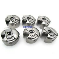 6PCS INDUSTRIAL SEWING MACHINE BOBBIN CASES FIT FOR JUKI CONSEW SINGER BROTHER