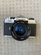 Fujica ST-605N 35mm SLR film camera with Lens / Tested & Working