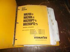 Komatsu WA200-5 WA200L-5 Wheel Loader Tractor Shop Service Repair Manual